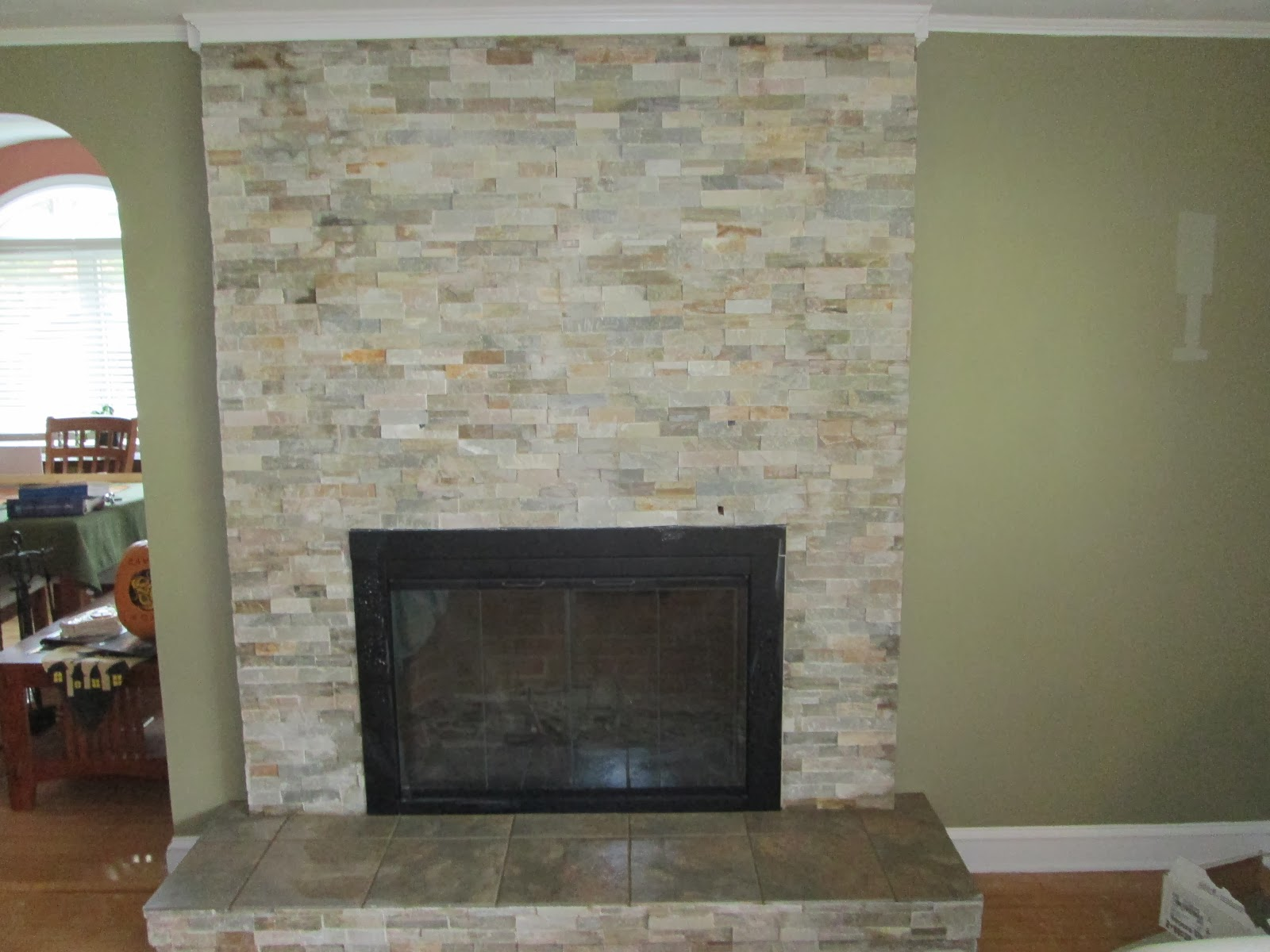 Natural Stone Tile Fireplaces | www.imgkid.com - The Image ...